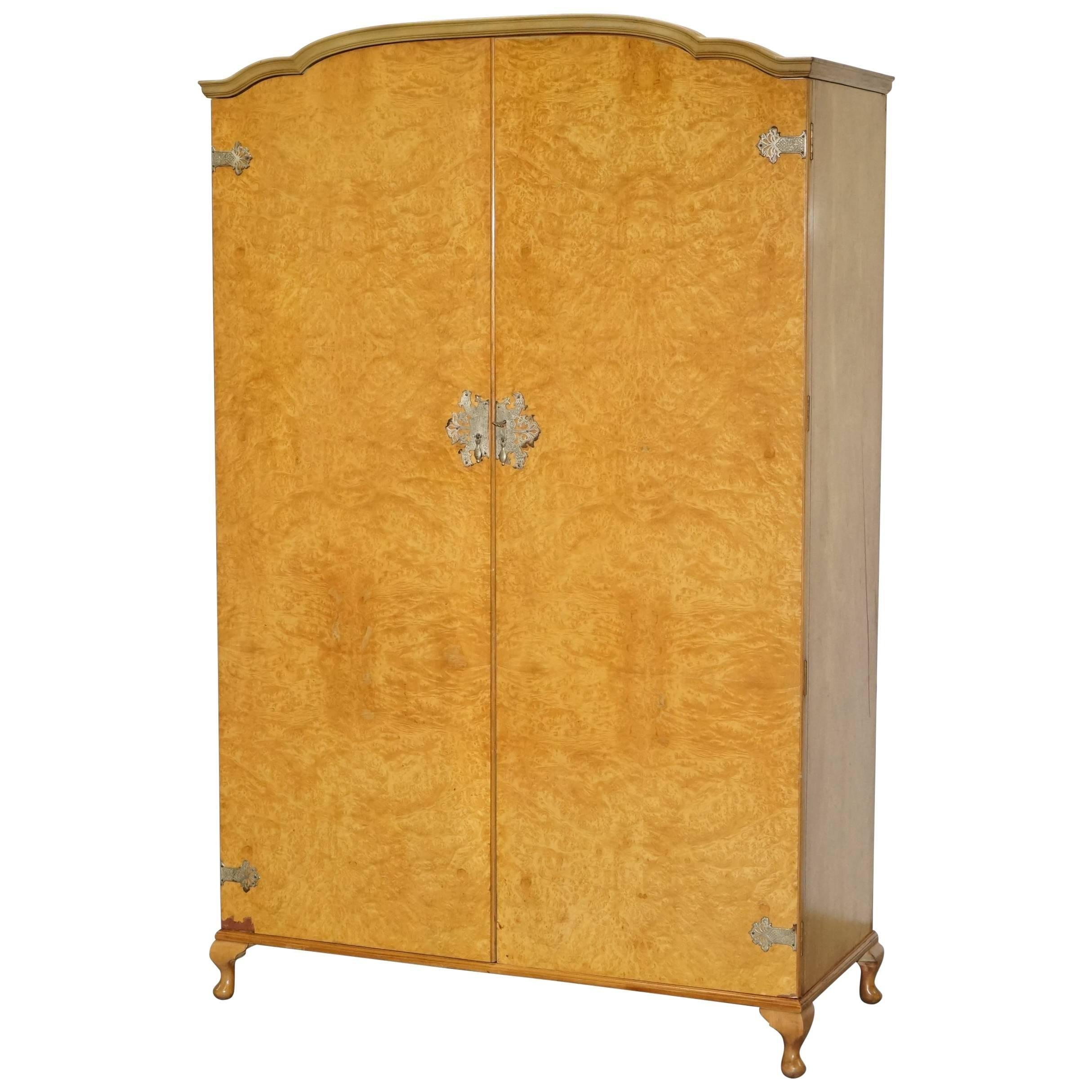Attrayant 1 Of 2 His U0026 Hers Midcentury Burr Walnut Wardrobes Heirloom Furniture Est  1889 For Sale