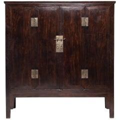 19th Century Chinese Fine Ironwood Cabinet