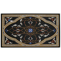 Marble and Stone Inlay Table Top