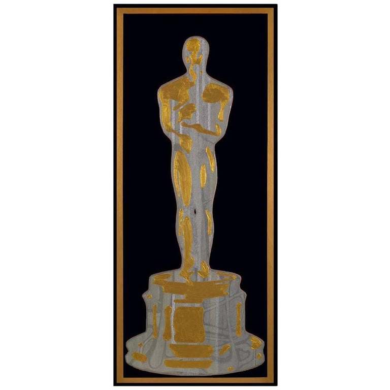Silver and Gold Oscar by Mauro Oliveira For Sale