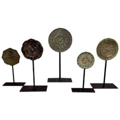 Tang Dynasty Bronze Mirror Set, China '618-907 AD'