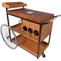 Arthur Umanoff Bar Cart Serving Trolley