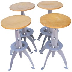 Four Rocket Inspired Barstools