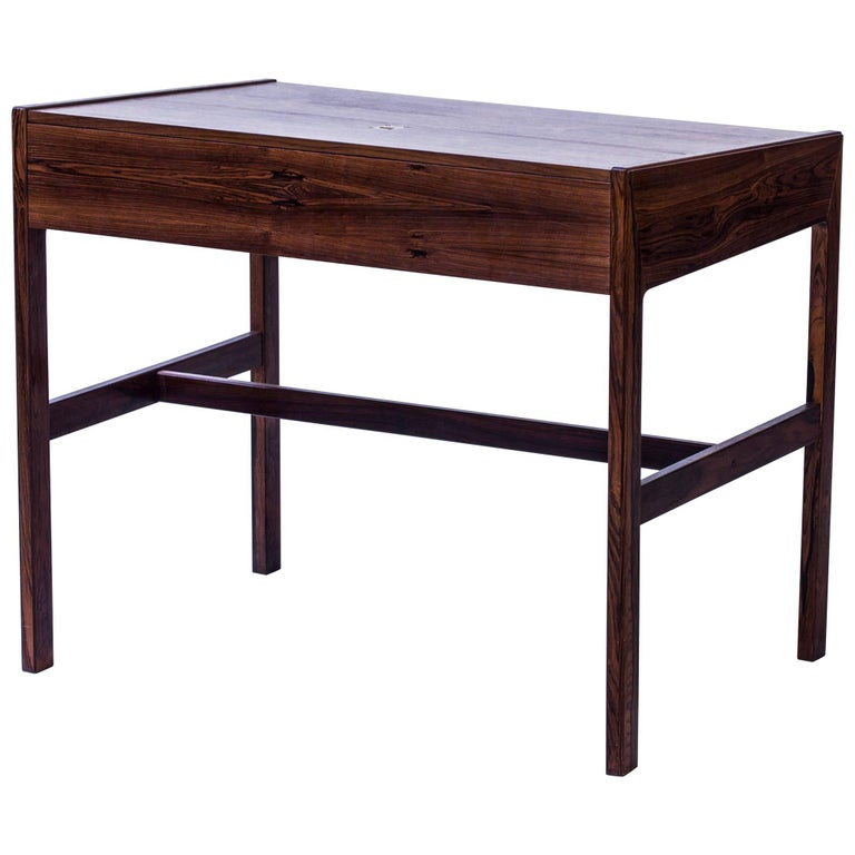 Palisander Desk by Arne Wahl Iversen, Denmark, 1960s