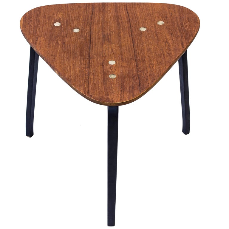 """Krok"" Side Table by Yngve Ekström, Sweden, 1950s"