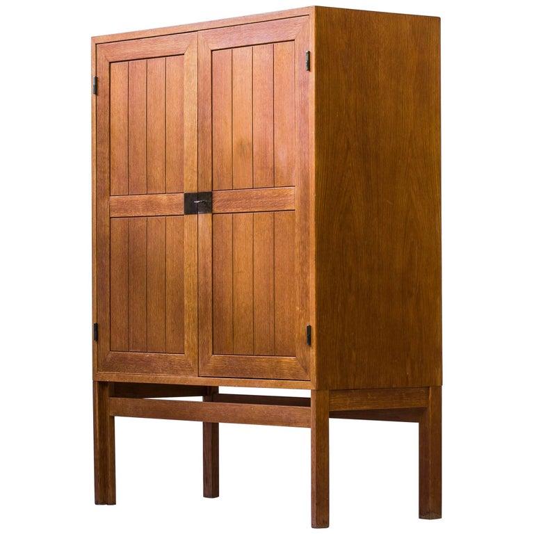 1960s Oak Cabinet by Kurt Østervig