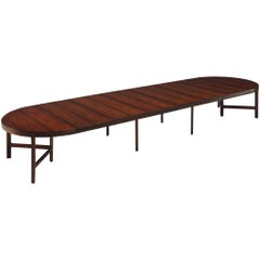Unique Rosewood Table by Danish Master Cabinet Maker