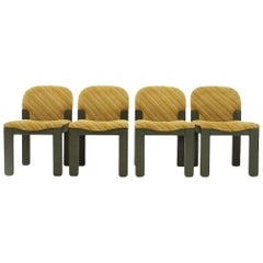 Set of Four Easy Dining chairs by Ernesto Radaelli for Saporiti, 1980s