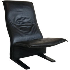Lounge Chair Artifort Concorde F784 Pierre Paulin, Original Leather Upholstery