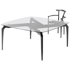 Gaulino Table, Glass