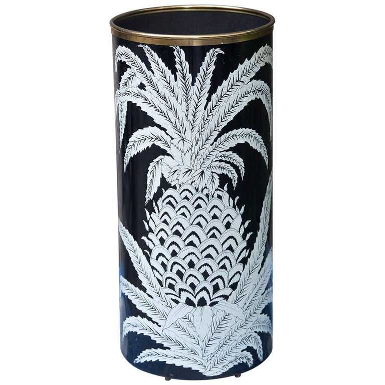 Piero Fornasetti Pineapple Umbrella Stand, 1950s For Sale