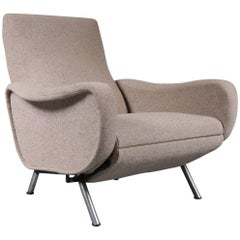 "Marco Zanuso ""Lady"" Reclining Chair for Arflex, Italy, 1950"
