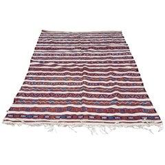Large Moroccan Berber Rug, Multi-Color