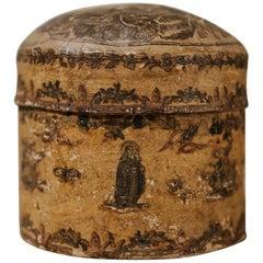 18th Century Arte Povera Venetian Chalk Box