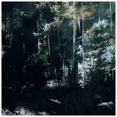 Jungle Watercolor Wall Painting