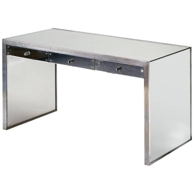 Modernist Desk by Jacques Adnet