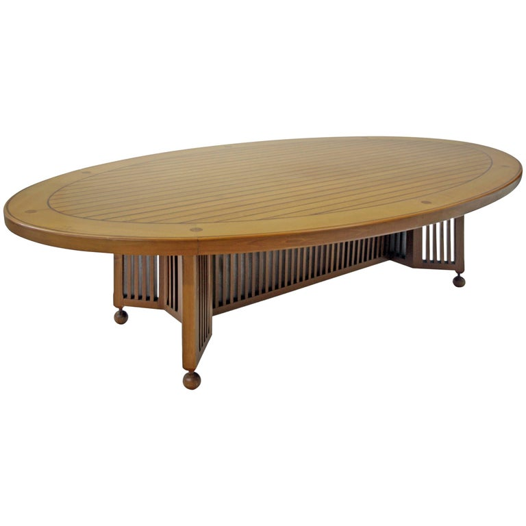 Large Dining Room Table, Probably Italy, Mid-20th Century