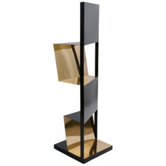 XYZ Freestanding Bookcase Structure by Paolo Giordano, Italy