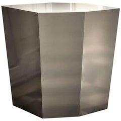 Diamond Side Table Laquered by Cristina Jorge De Carvalho