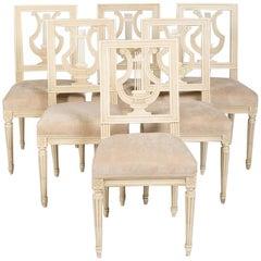 Set of Six Louis XVI Style Chairs by Maison Jansen