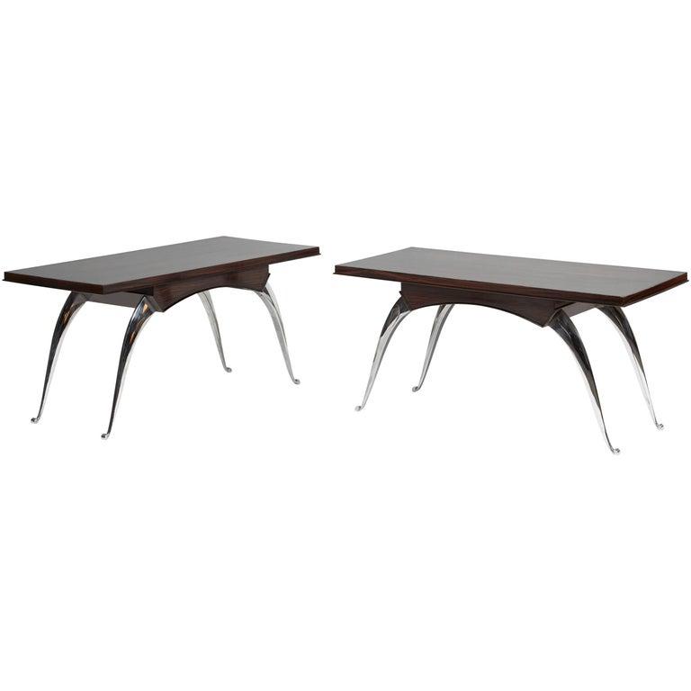 Dominique 'Genet Et Michon', Elegant Low Tables, circa 1936