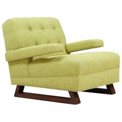 Paul Laszlo Style Lounge Chair with Sled Base
