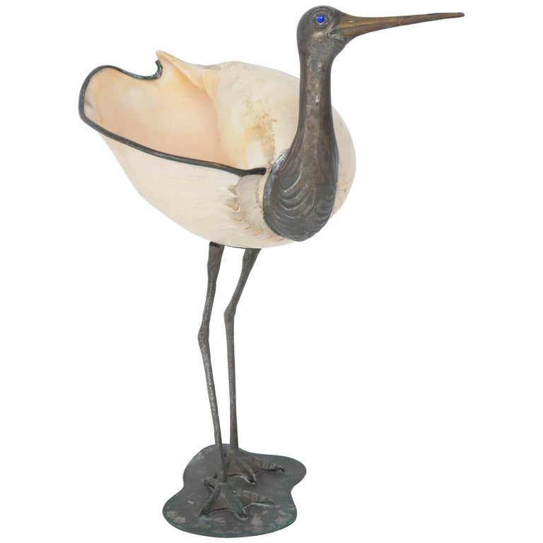 Binazzi Seashell Bird For Sale