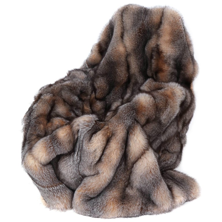 Fox Throw Offered by Area ID For Sale