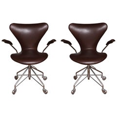 Set of Jacobsen Chairs