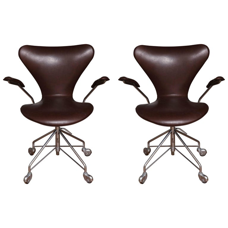 Set of Jacobsen Chairs For Sale