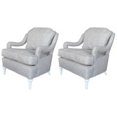 Pair of Hollywood Regency Chairs