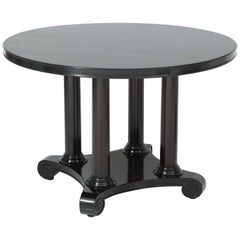 French Column Base Center Table
