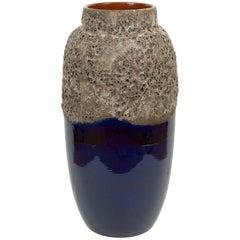 Large Lava Glaze Vase by Scheurich