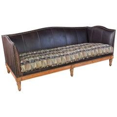 Classic English Style Camel Back Sofa