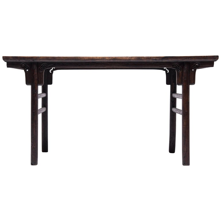 19th Century Chinese Ruyi Writing Table