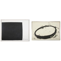 "Richard Serra Works on Paper ""Leo"" & ""L.A.9.8"""