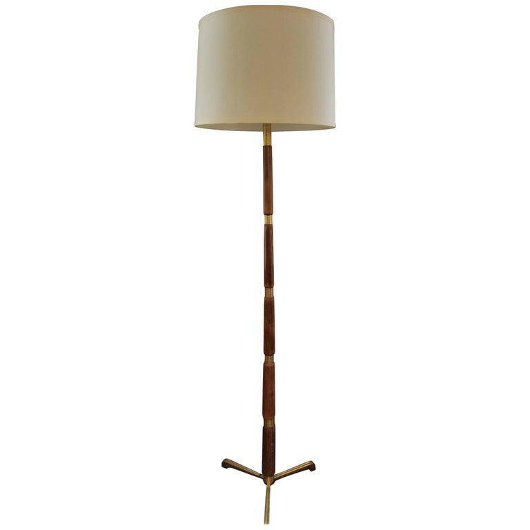 Vintage Italian Tall Floor Lamp