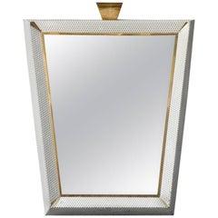 Mid-Century Modern Extra Large Illuminated Mirror