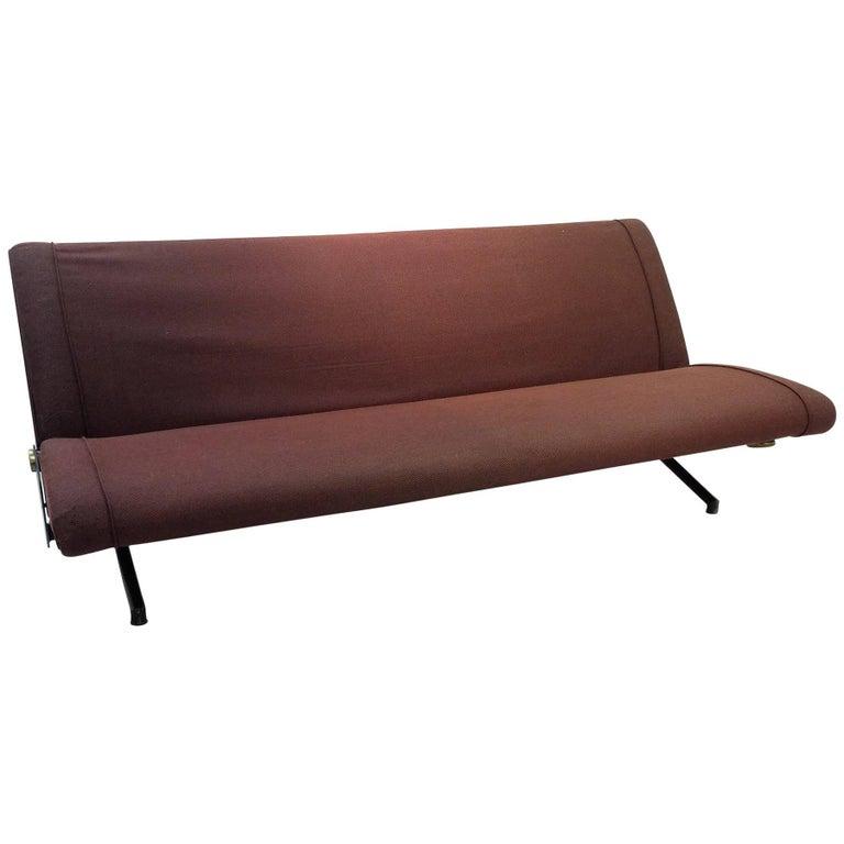 Sofa Daybed D70 Designed by Osvaldo Borsani for Tecno