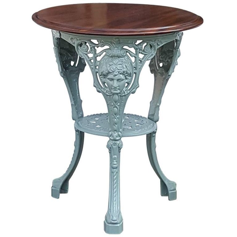 Victorian Cast Iron Garden Table