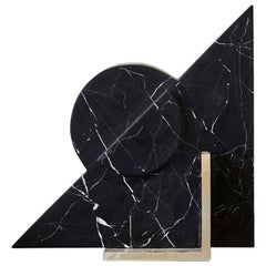 Hemi Bookend in Black Marble