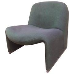 "Italian Designer Giancarlo Piretti ""Alki"" Lounge Chair, 1970s"