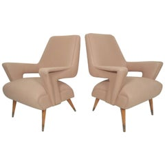 Angular Italian Lounge Chairs