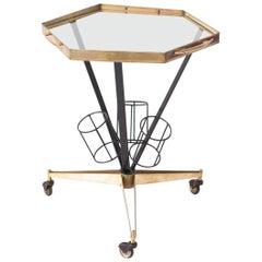 Italian Modern Bar Cart, 1950s