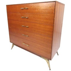 Midcentury Highboy Dresser by R-Way