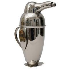 Napier Style Art Deco Penguin Form Cocktail Shaker