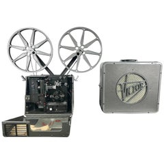 1940s Victor Triumph 60 Movie Projector Animatophone and Speaker