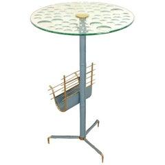 Magiscope Optic Glass Magazine Table