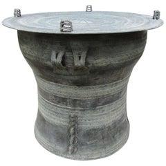 Bronze Rain Drum