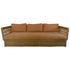 Bielecky Wicker Sofa